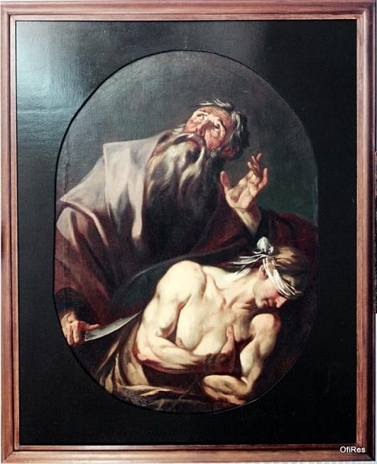 3. Il sacrificio di Isacco - dopo il restauro