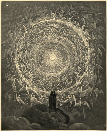 Dante Paridiso Engraved by Gustave Dore