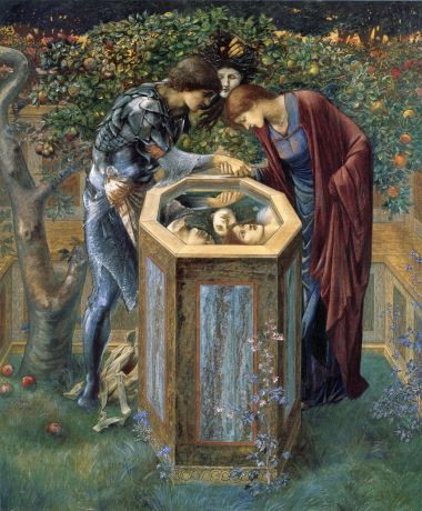 Burne-Jones,_Edward_-_La_testa_funesta_(1885)