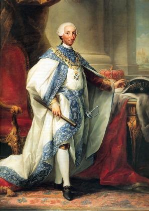 1771 - Carlo III Con Gli Abiti Del Suo Ordine
