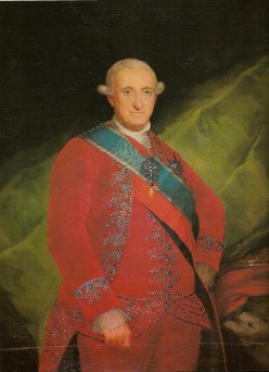 1789 - Ritratto Di Carlo IV
