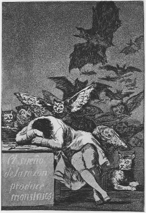 1797-1798 - Il Sonno Della Ragione Genera Mostri