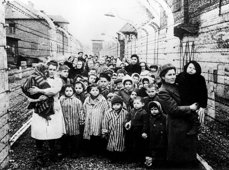 Освобожденные_дети_Освенцима