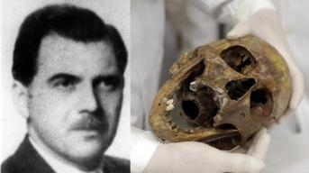Josef Mengele Teschio e Foto