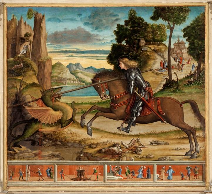 Vittore-Carpaccio-San-Giorgio-e-il-drago-e-quattro-episodi-della-vita-del-Santo-San-Giorgio-Maggiore-Venezia