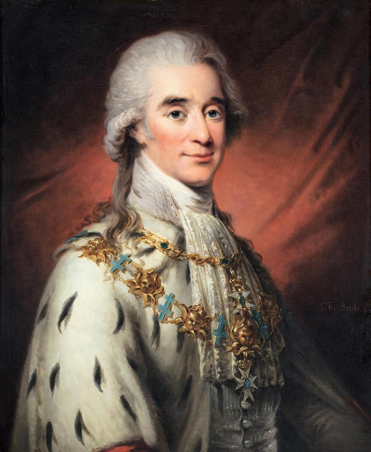 Carl Frederik von Breda - Ritratto di Hans Axel von Fersen (1800 circa)