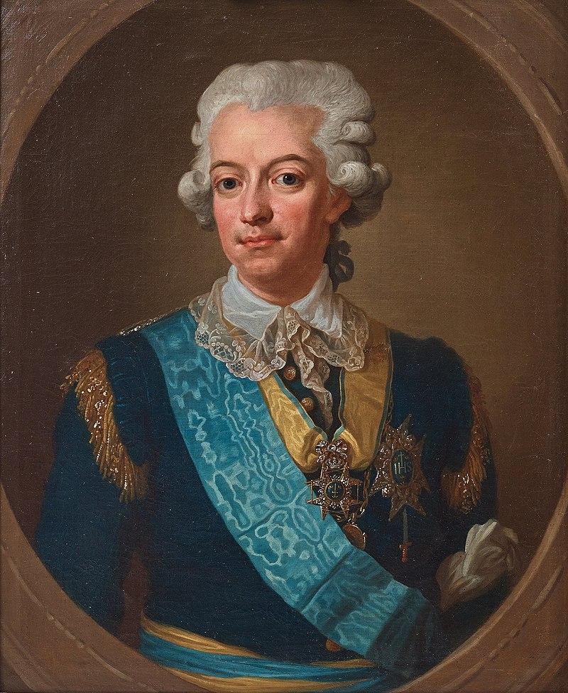 Ritratto di Gustav III di Svezia