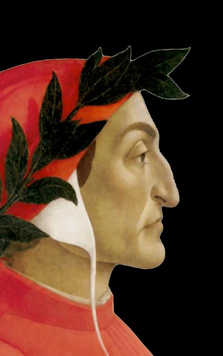 Dante Alighieri Sandro Botticelli (tempera su tela, 1495, Ginevra, collezione privata)
