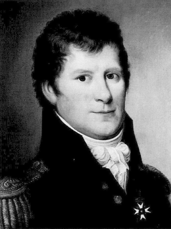 Ritratto del conte Edvard Frederik von Saltza