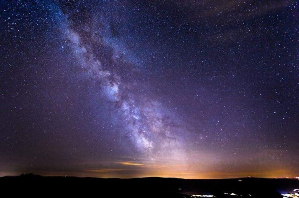 La Via Lattea vista dalla Terra