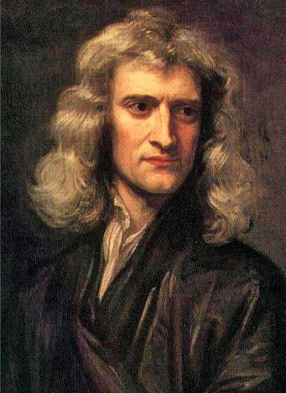 Isaac Newton 1689 Sir Godfrey Kneller