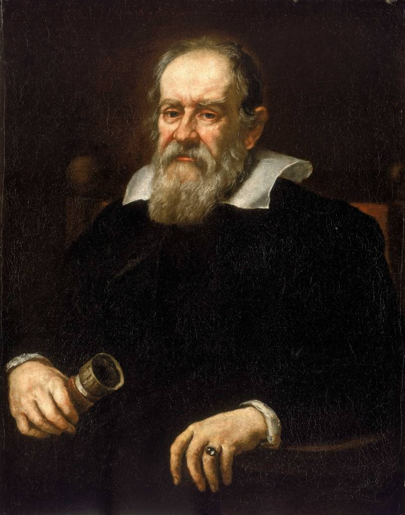 Ritratto di Galileo Galilei (1636) Justus Sustermans